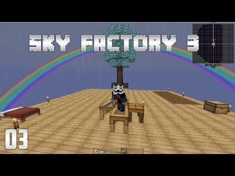 SkyFactory 3 - Cobblestone Generator + Lava Generator
