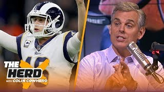 Colin Cowherd plays the 3-Word Game after NFL Conference Championship games | NFL | THE HERD