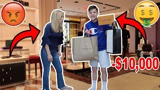 SPENDING MONEY ON MY PARENTS CREDIT CARD! *FREAKOUT*