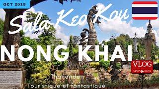 Sala Keo Kou à Nong Khai Thailande, C'est ENORME pour cette Part 1