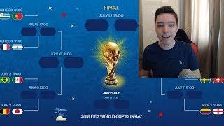 CINE VA CASTIGA CUPA MONDIALA? PREDICTIA MEA FINALA PENTRU WC 2018 !!