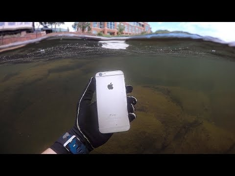 Thumbnail: Found iPhone, Knife and Jewelry Underwater in River! (Scuba Diving)