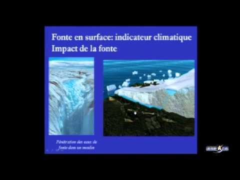 Antarctique vu de l'espace