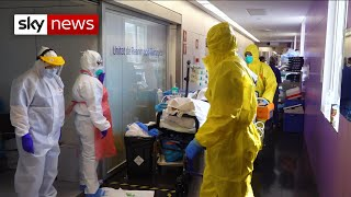 Coronavirus: Inside an intensive care unit in Barcelona