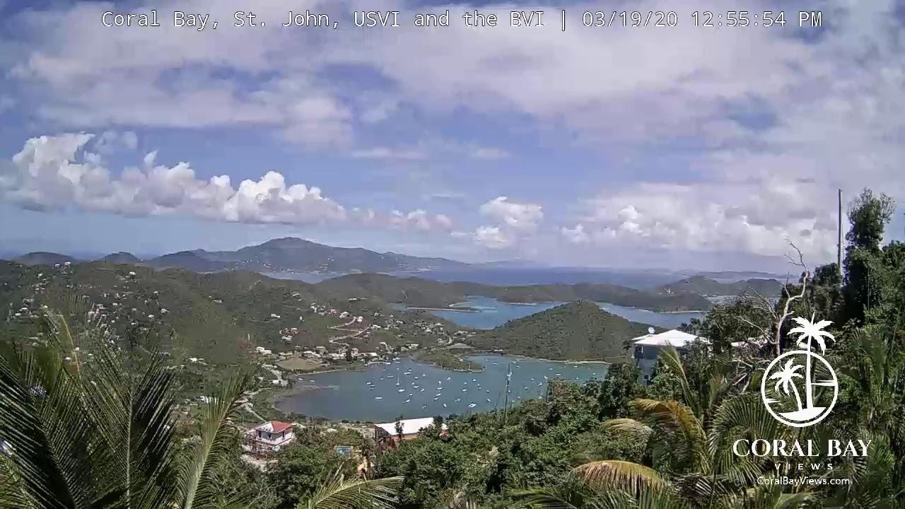 Live st john island holiday weather cam chocolate hole bay us virign islands