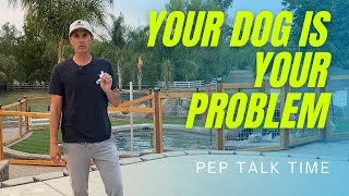 No one is coming to fix your dog's problems.  Take control of your dog training