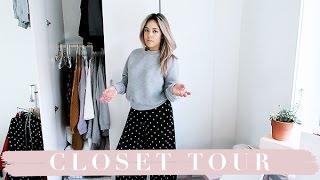 closet tour een kijkje in mijn kast jamie li