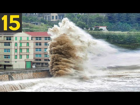 15 MOST EXTREME Weather Events Caught on Video
