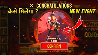 Free Fire New Event Fever Spin I Got New AirSpeed Ice Bundle Free Fire Fever Spin Event