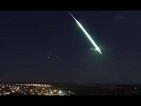 Vídeo: Meteorito cae en ciudad de México.18 de Julio 2020