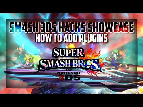 Showcasing SM4SH (3DS) HACKS-NTR PLUGINS