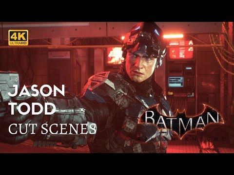 Batman Arkham Knight All Jason Todd Story Cut Scenes 4K 60fps