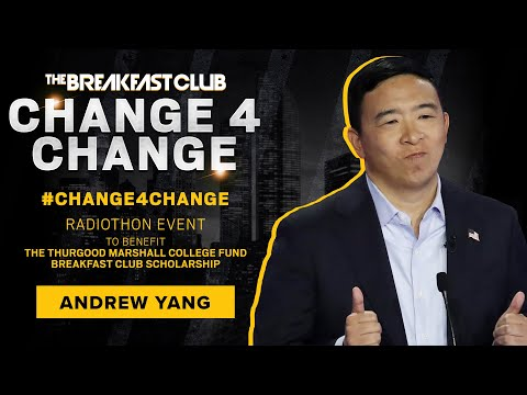 Change 4 Change - Andrew Yang Puts His Money Where His Mouth Is and Donates to #Change4Change
