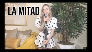La Mitad - Camilo & Christian Nodal (Carolina Ross cover)