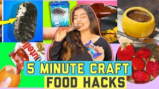 Testing Viral Two Ingredient Recipes By 5 minute Crafts | Food Hacks| Yashita Rai