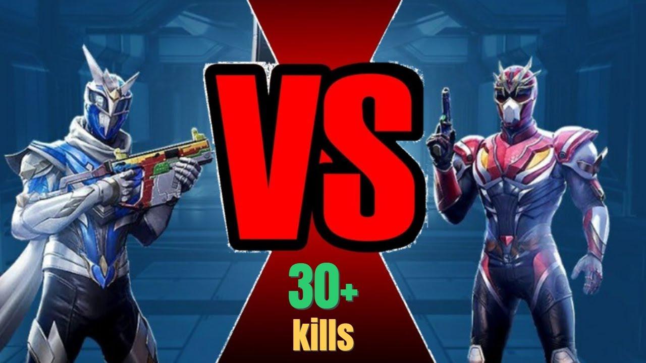 Fire Ranger VS Ice Ranger   Full Rush Gameplay   PUBG MOBILE