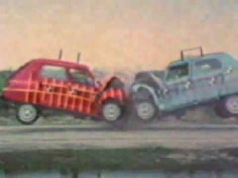 Citroen Dyane crashtest - YouTube