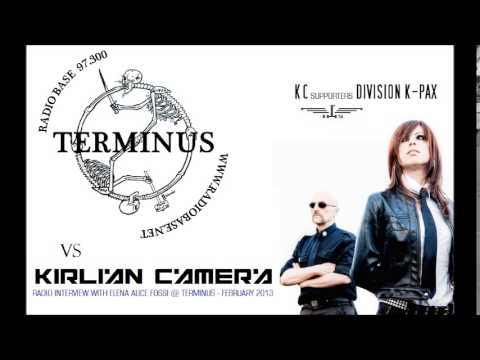 Elena Alice Fossi (Kirlian Camera) - Radio Interview @ Terminus - February 2013