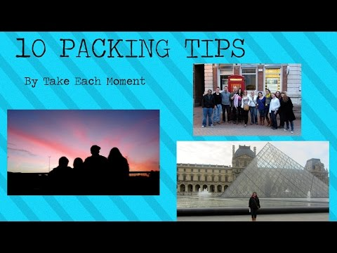 10 Packing Tips Every Study Abroad Student Should Know