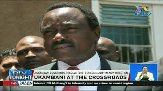 Wiper leader Kalonzo Musyoka faces rebellion in Ukambani