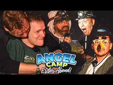 Angelcamp mit Knossi & Sido - Tag 1 | Highlights