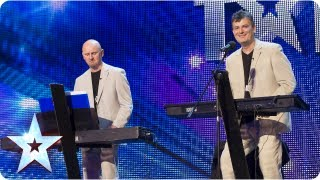 The Duelling Pianos play and get everyone involved - Week 3 Auditions  |  Britain's Got Talent 2013