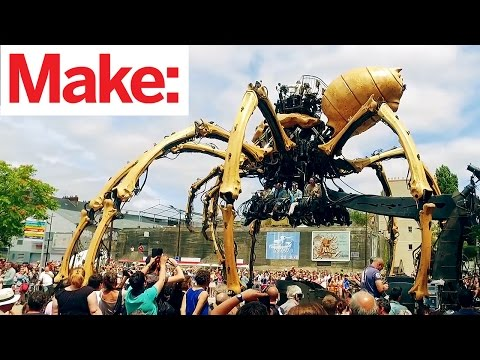 Maker Faire Nantes Video Tour