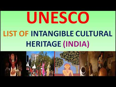 unesco intangible cultural heritage list india | UNESCO Lists |GK| UPSC | SSC | ias preparation |
