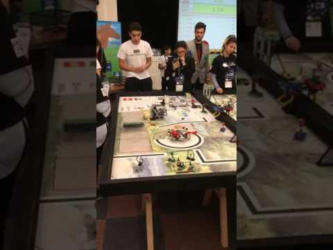FLL Cyprus Animal Allies   KLAK Robotics Winning Run