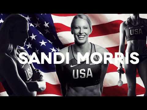 Olympian Sandi Morris - A Message For Powdersville Elementary School Kids