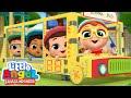 Roda Di Bus Berputar-putar Di Sekolah Kartun Anak Little Angel Bahasa Indonesia