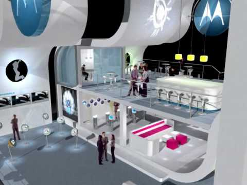 Barzilai Design presents Motorola at Telecom Israel 2006