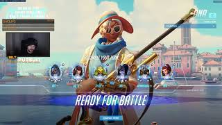 Overwatch mL7 Shows How To Carry Games As Ana -Sick Gameplay-