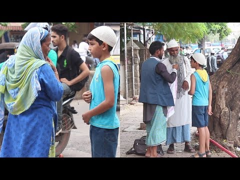 Muslim Boy Asking For Food During Ramzan | Shocking Reactions | Funk You