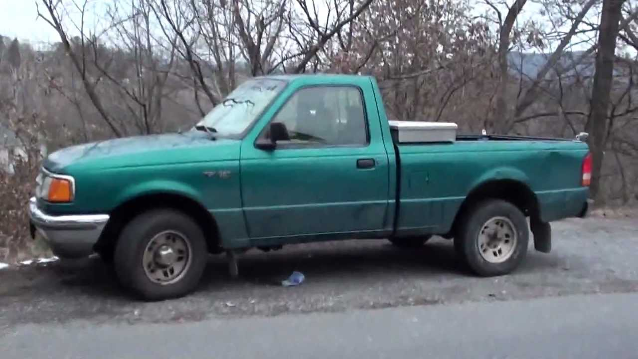 a ride in the loudest ford ranger ever exhaust pipe fail