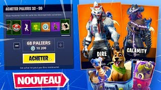 I DEBLOQUE 100% OF THE SAISON COMBAT PAS 6 on Fortnite: Battle Royale