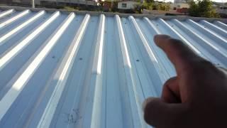vuclip Como fazer telhado de zinco parte 2