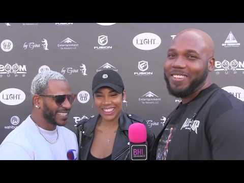 Eric Bellinger La'Myia GoodCouture Against Cancer All Star Weekend