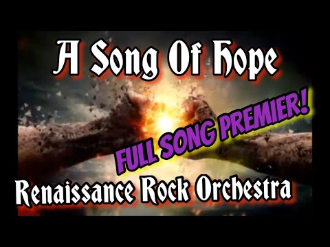 Official Music Video Premier FULL SONG release / A Song Of Hope / RRO song / rock music videos 2021