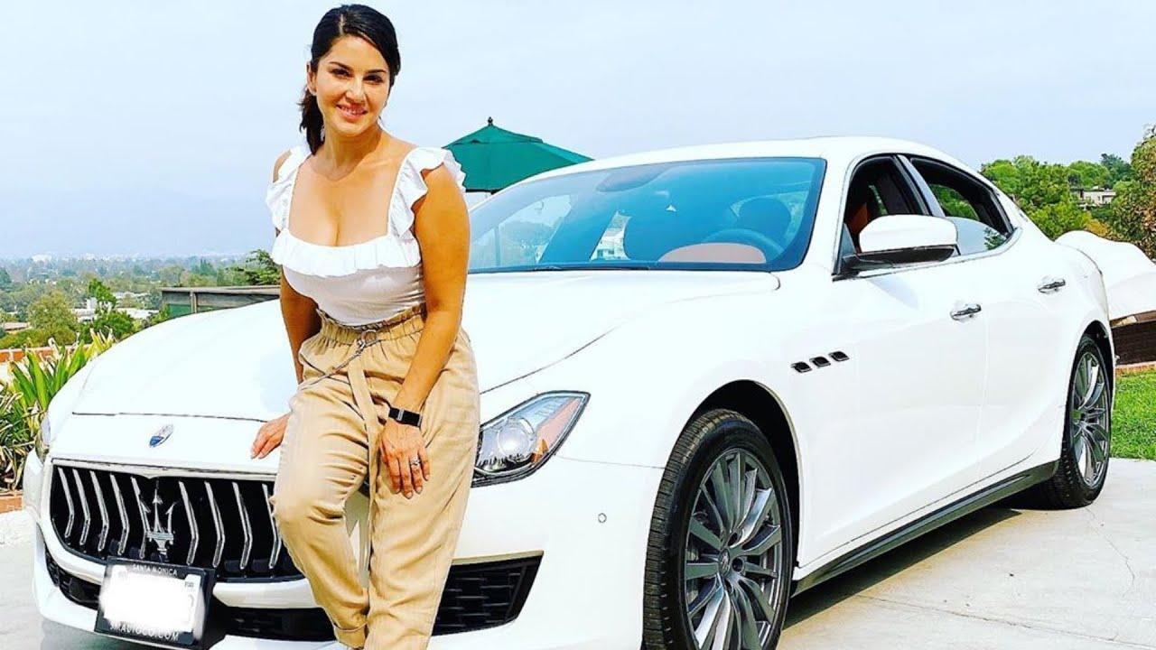 Celebrity Bought New Cars - Sunny Leone, Amitabh Bachchan