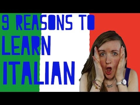 9 Reasons To Learn Italian║Lindsay Does Languages Video