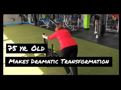 75 Year Old Makes Dramatic Body Transformation | Tewksbury Sports Club