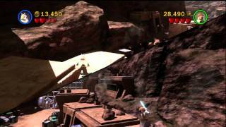 Lego Star Wars III Clone Wars Walkthrough ASAJJ VENTRESS CH-5 Innocents Of Ryloth Part 1 Commentary