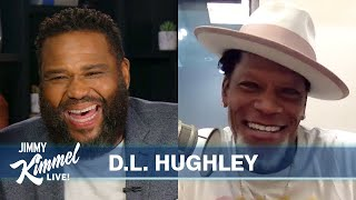 Guest Host Anthony Anderson Interviews D.L. Hughley - Getting COVID-19 & Collapsing on Stage