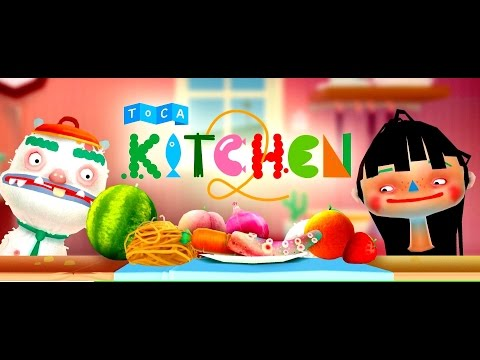 Toca Kitchen 2 | Готовим Еду | Toca Boca | Мультик (ИГРА). Childrens cartoon Game