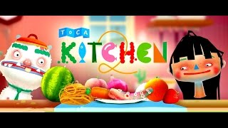 Toca Kitchen 2 | Готовим Еду | Toca Boca | Мультик (ИГРА). Children's cartoon Game