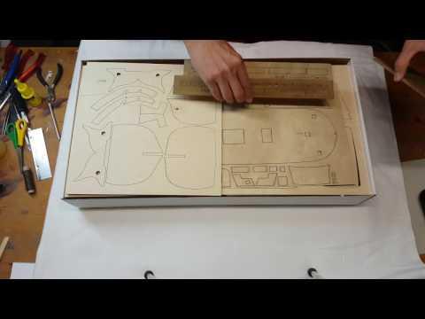 AMATI HMS Bounty 1:60 Unboxing [4K]