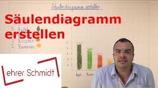 Säulendiagramm erstellen | Diagramme | Mathematik