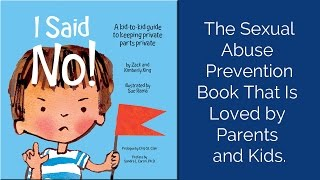 I Said No! A kid-to-kid book to keeping private parts private