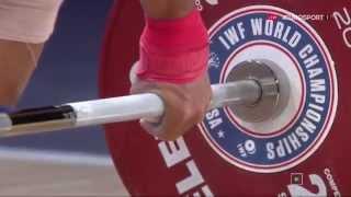 Тяжелая атлетика. Чемпионат Мира 2015 г. Мужчины до 56 кг.